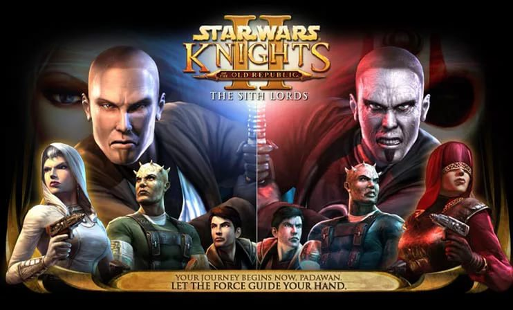 Прохождение Star Wars: Knights of the Old Republic II — The Sith Lords