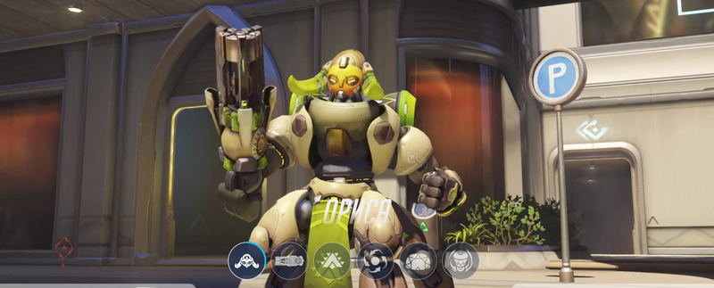 Новый персонаж Overwatch — робот Ориса