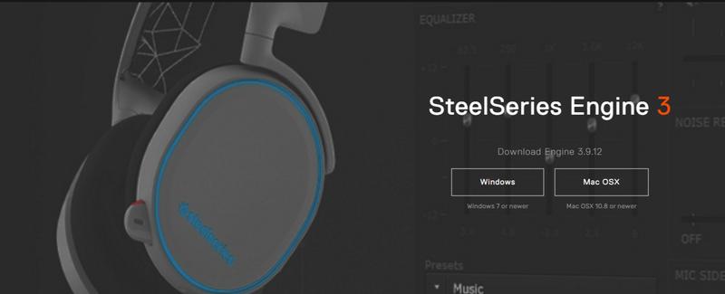 Вышла SteelSeries Engine 3 ver. 3.9.12