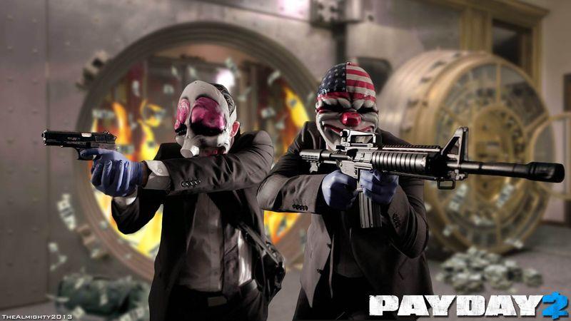 До 12 апреля Payday 2 доступна бесплатно