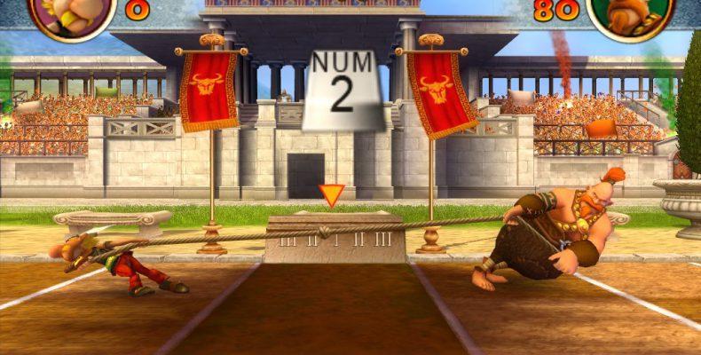 Прохождение игры Asterix at the Olympic Games