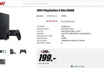 Sony снижает цену на PS4 Slim до €199