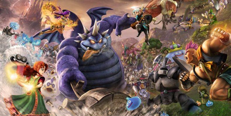 Геймплей Dragon Quest Heroes II с предстоящей демоверсии на PS4