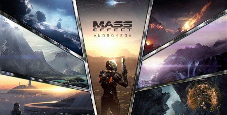 Запись первых 13 минут Mass Effect: Andromeda