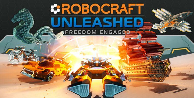 Началось бета-тестирование Robocraft