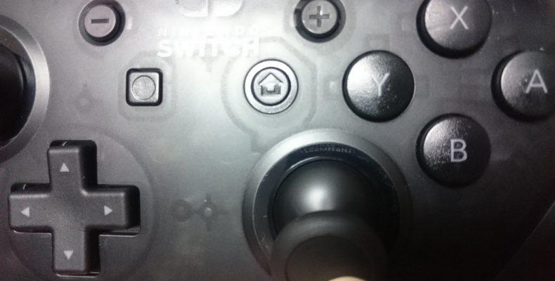 На джойстике Nintendo Switch Pro найдено послание игрокам