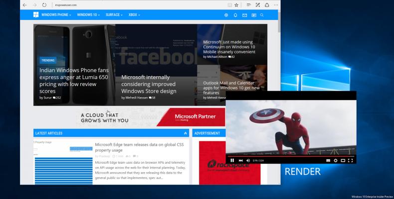 Microsoft не планирует реализовывать функцию «картинка в картинке» на xbox one